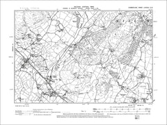 Stilecroft, Kirksanton, Wicham, Old Map Cumberland 1900: 88SW