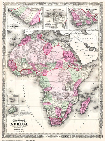 Africa in 1864