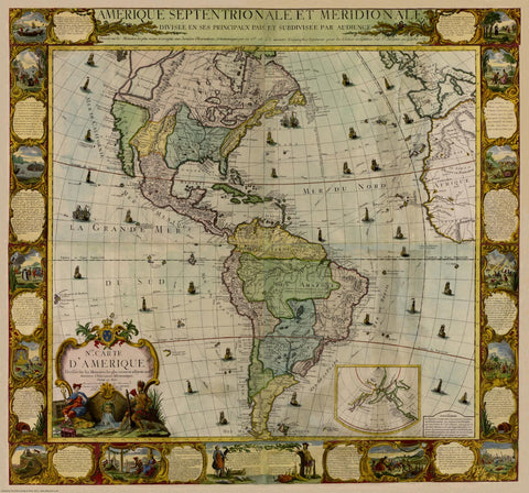 The Americas in 1781