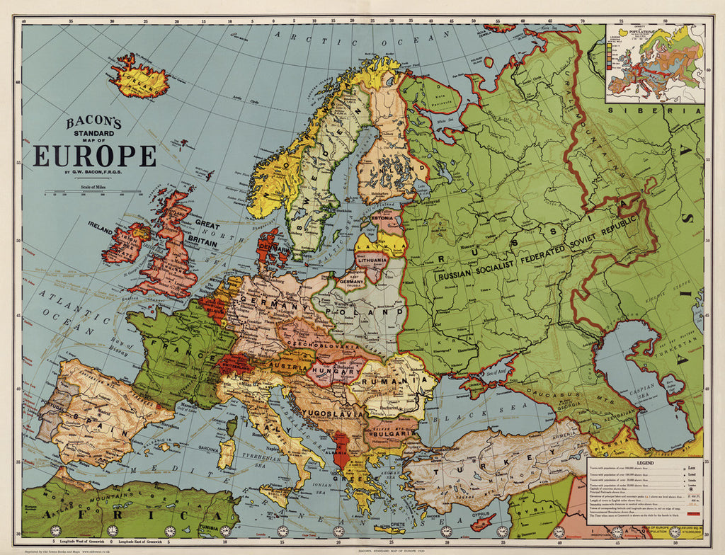 Europe in 1920