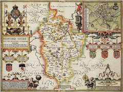 Bedfordshire (John Speed 1610)