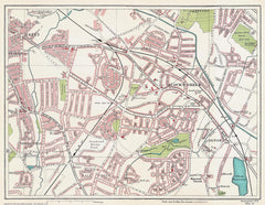 Acock's Green area (Birmingham 1939 Sheet 18)