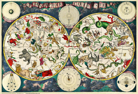 Constellations & Stars in 1670