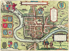 Chester (Cestria) in 1581