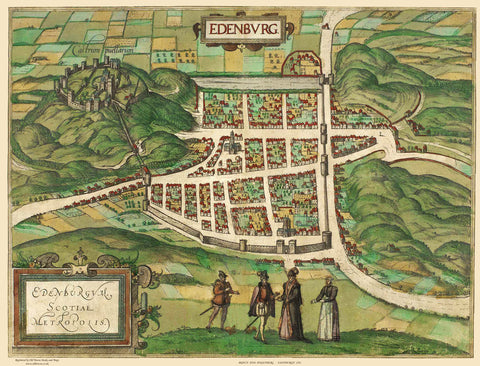 Edinburgh in 1581