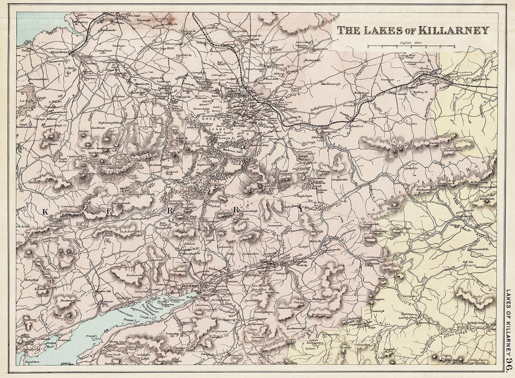 The Lakes of Killarney in 1890