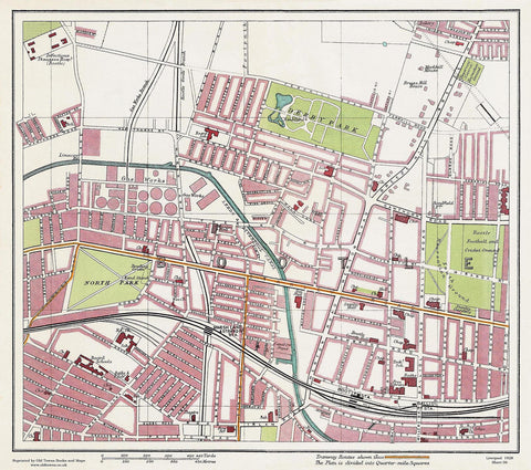 Bootle area (Liverpool 1928 Sheet 6)