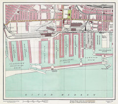 Alexandra Dock area (Liverpool 1928 Sheet 11)