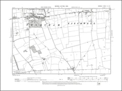 NORFOLK 06NE : old map of Thornham, Titchwell in 1906