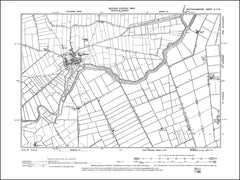 NOTTINGHAMSHIRE 003SE : old map of Misson in 1900