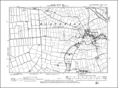 NOTTINGHAMSHIRE 004SW : old map of Misterton, Walkeringham (north) in 1900