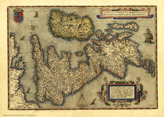 British Isles in 1570