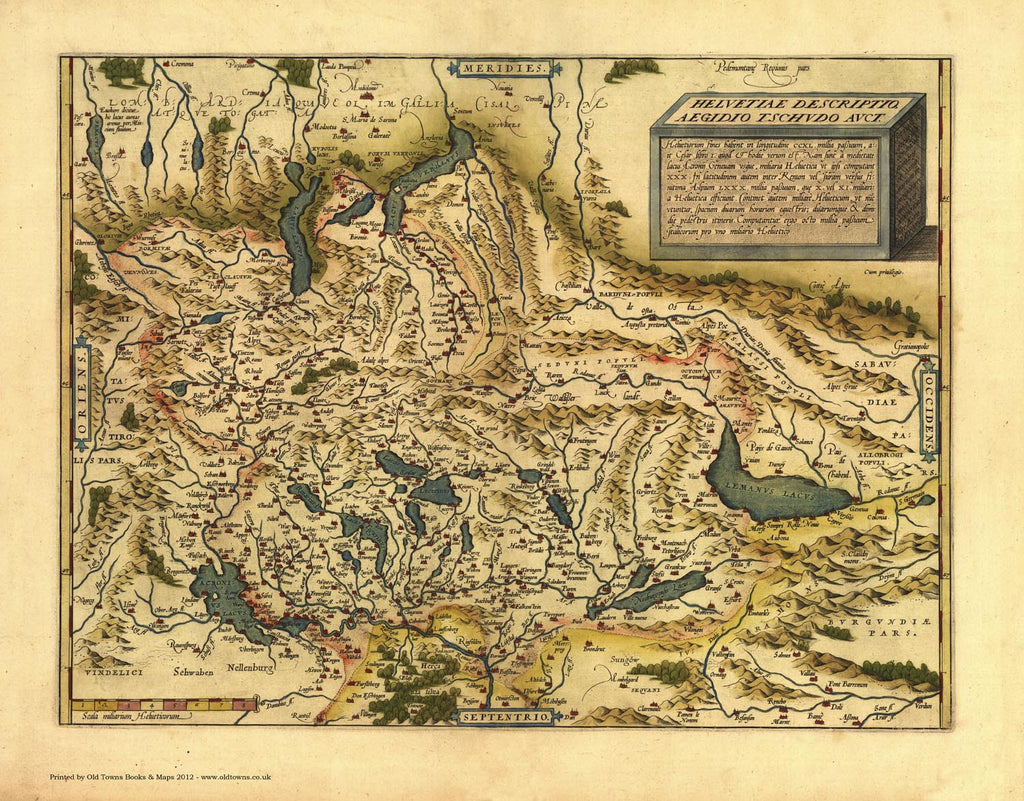 Switzerland in 1570