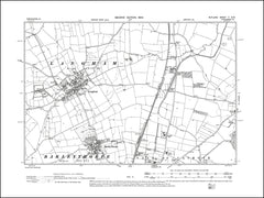 RUTLAND 005SW : old map of Barleythorpe, Langham in 1904