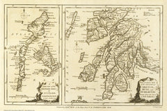 Argyll, Bute, Dumbarton & The Western Isles, Scotland in 1786
