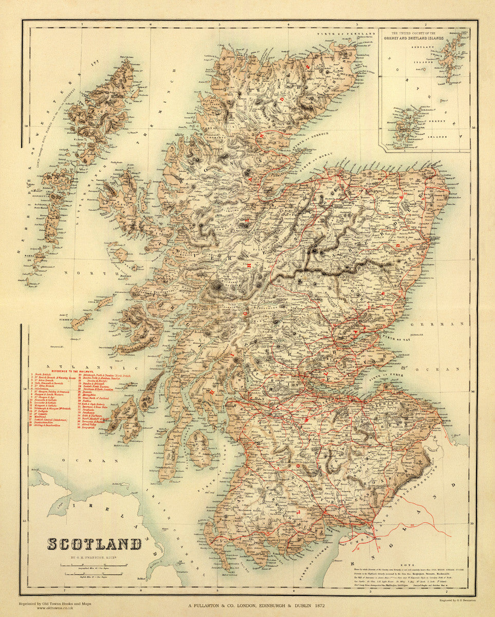 Scotland and its Railways in 1872