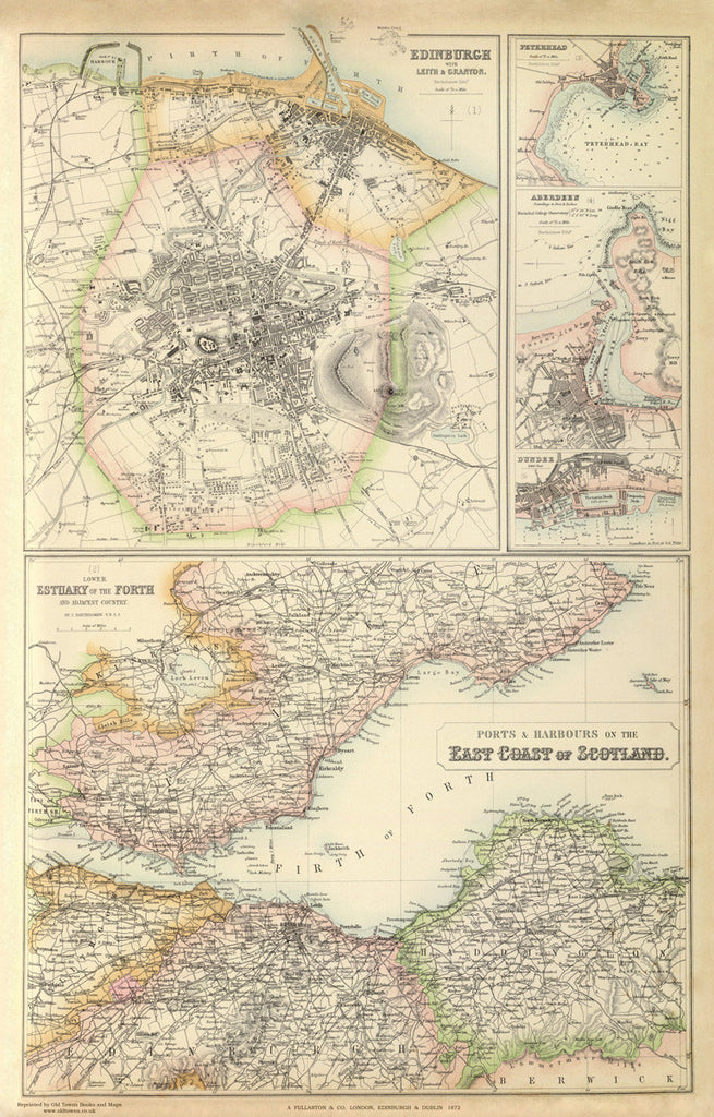 Ports and Harbours of Eastern Scotland in 1872