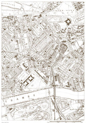 Belgravia, Chelsea, Pimlico, Battersea (north), Buckingham Palace (London 1888 Sheet 22)