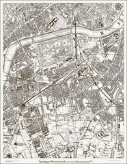 Battersea, Clapham, Chelsea (London & Suburbs 1888 Sheet 27)