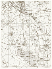 Beckenham (S), Hayes (London & Suburbs 1888 Sheet 47)