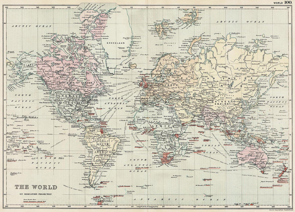 The World in 1890