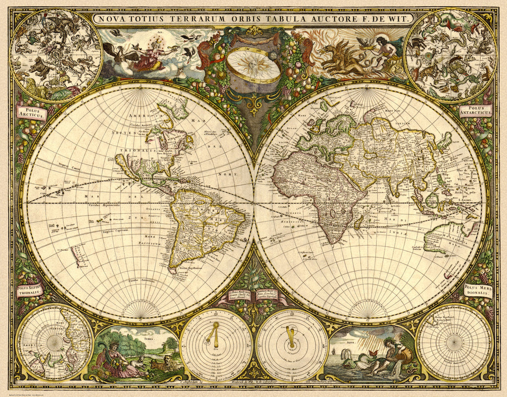 The World in 1660