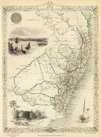 New South Wales, Australia in 1851