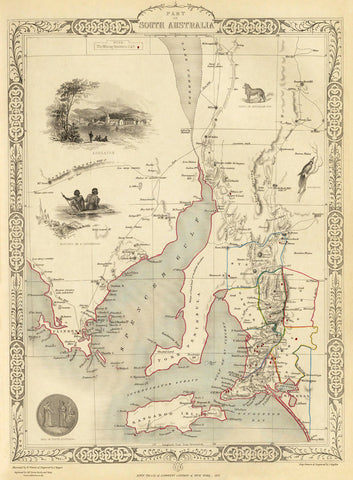 Part of South Australia in 1851