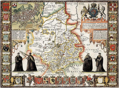 Cambridgeshire (John Speed 1610)