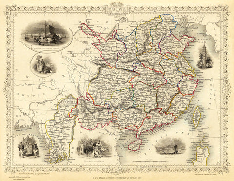 China in 1851