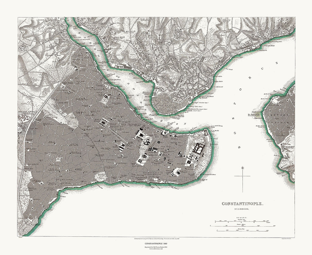 Constantinople, Istanbul, Turkey 1840
