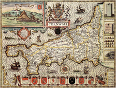 Cornwall (John Speed 1610)