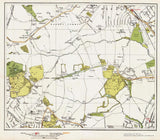 Totteridge area (London 1932 Sheet 13-14)