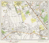 Edgware (south), Kenton (London 1932 Sheet 25-26)