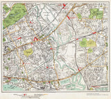 Bromley by Bow, Canning Town area (London 1932 Sheet 63-64)
