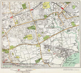 East Ham, Beckton area (London 1932 Sheet 65-66)