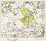 Southall Green, Osterley area (London 1932 Sheet 69-70)