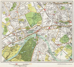 Brentford, Kew, Chiswick area (London 1932 Sheet 71-72)