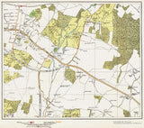 Sidcup, North Cray, Foots Cray area (London 1932 Sheet 115-116)