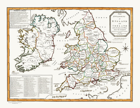 The Invasions of England & Ireland with all their Civil Wars since the Conquest, 1801