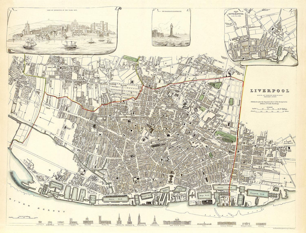 Liverpool in 1836