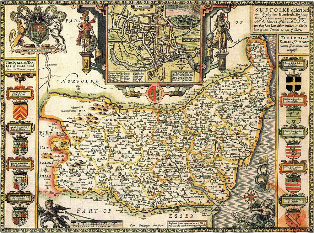 Suffolk (John Speed 1610)