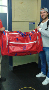 Un nouveau sac ventilé Drysnake pour David Desharnais des Canadiens de Montréal / A new Drysnake ventilated bag for David Desharnais of the Montreal Canadiens