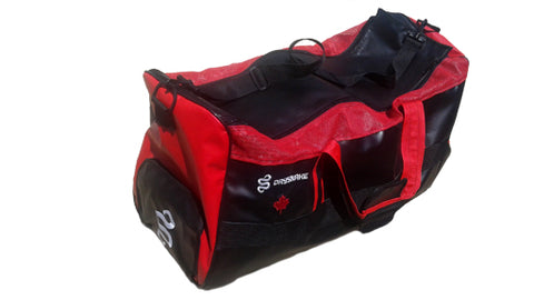DRYSNAKE ball hockey bag BlackRed