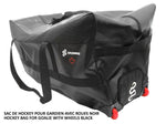DRYSNAKE hockey wheel goalie bag black