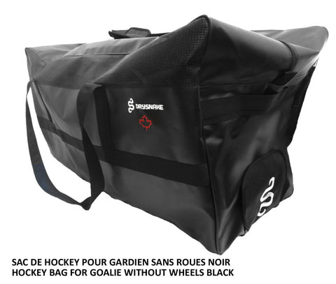 DRYSNAKE hockey goalie bag black