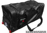 DRYSNAKE hockey player deluxe wheel bag black
