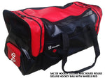 DRYSNAKE hockey player deluxe bag redblack