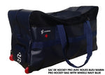 DRYSNAKE hockey player pro wheel bag navy