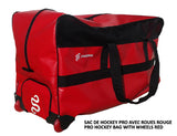 DRYSNAKE hockey player pro wheel bag red